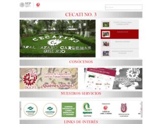 cecati3.edu.mx screenshot