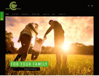 cedarbear.com screenshot