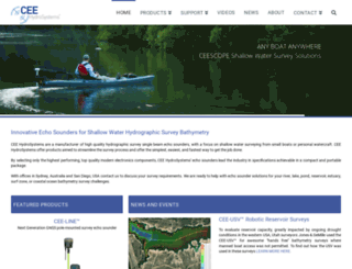 ceehydrosystems.com screenshot