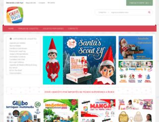cefatoys.com screenshot
