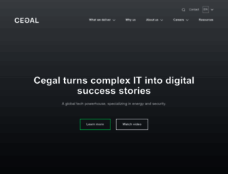 cegal.com screenshot