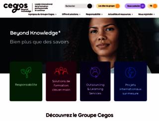 cegos.com screenshot