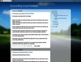 celalkaraman.blogspot.com screenshot