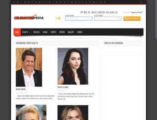 celebritiespedia.com screenshot