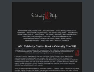 celebritychefs.co screenshot