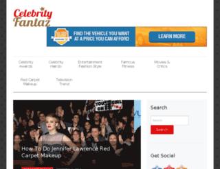celebrityfantaz.com screenshot