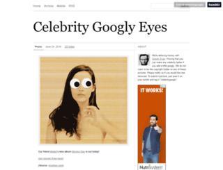celebritygoogly.com screenshot