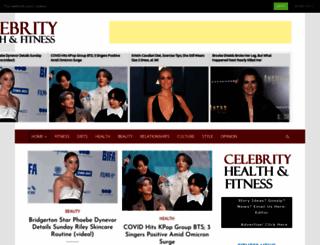 celebrityhealthfitness.com screenshot