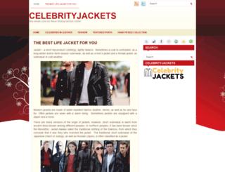 celebrityjackets.com screenshot