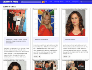 celebrityphoto.com screenshot
