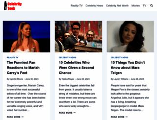 celebritytoob.com screenshot