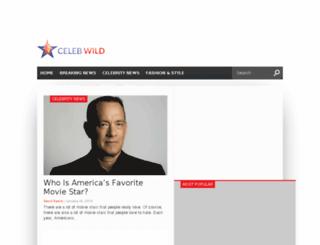 celebwild.com screenshot