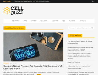 cell-buzz.com screenshot