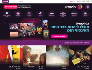 cellcomtv.co.il screenshot