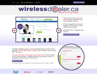 cellcomwireless.wirelessdealer.ca screenshot