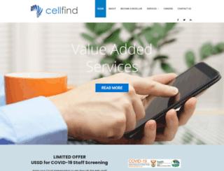 cellfind.co.za screenshot