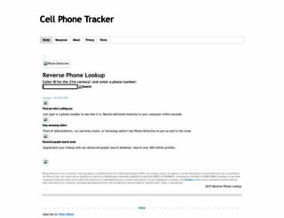 cellphonetracker-us.blogspot.com screenshot