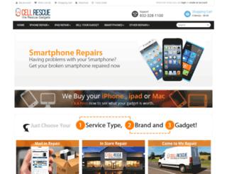 cellrescue.com screenshot