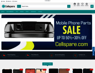 cellspare.com screenshot