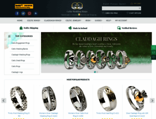 celtic-weddingrings.com screenshot
