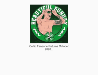 celticfanzone.net screenshot