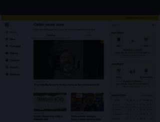 celticnewsnow.com screenshot