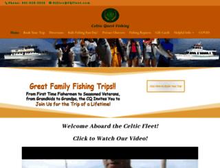 celticquestfishing.com screenshot