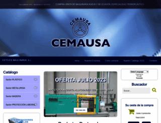 cemausa.com screenshot