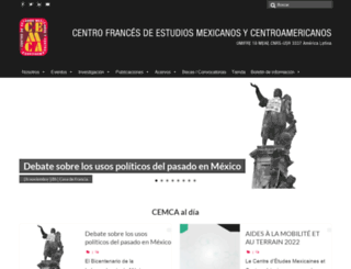 cemca.org.mx screenshot
