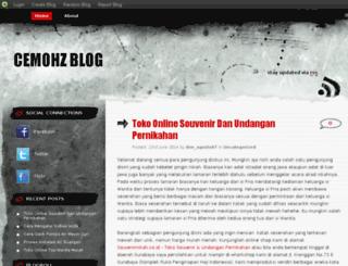 cemohz.blog.com screenshot