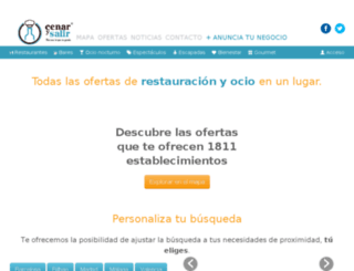 cenarysalir.com screenshot