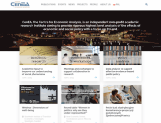 cenea.org.pl screenshot