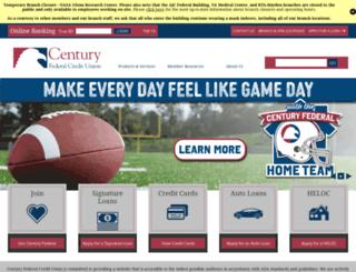 cenfedcu.org screenshot