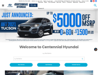 centennialhyundailasvegas.com screenshot