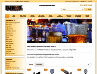 centennialtap.com screenshot