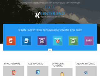 centerend.com screenshot