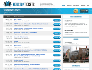 centerhouston.com screenshot