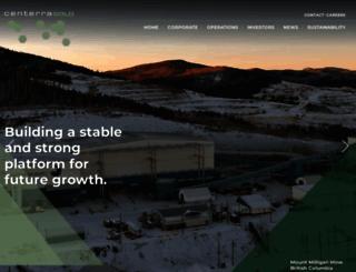 centerragold.com screenshot