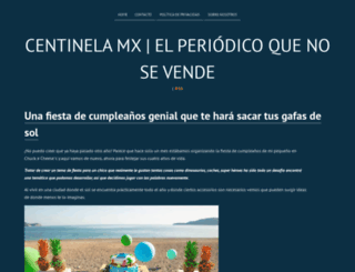 centinela.mx screenshot