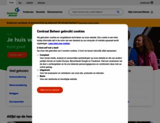 centraalbeheer.nl screenshot