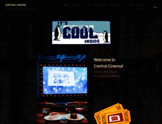 central-cinema.com screenshot