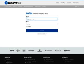 central.damontehost.com.br screenshot
