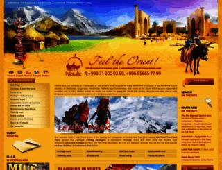 centralasia-travel.com screenshot