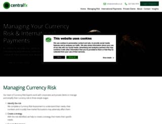 centralfx.co.uk screenshot
