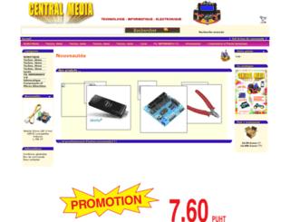 centralmedia.fr screenshot