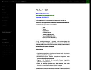 centralmonterrico.com screenshot