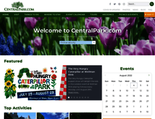 centralpark.com screenshot