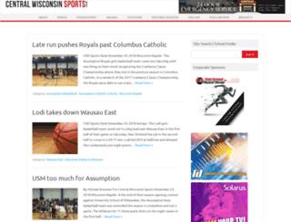 centralwisconsinsports.net screenshot