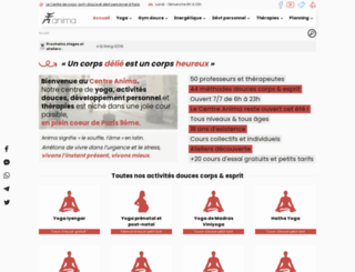 centreanima.com screenshot