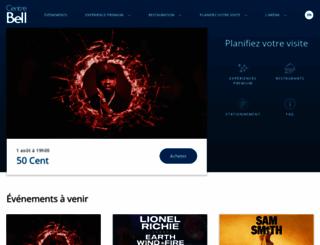 centrebell.ca screenshot